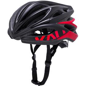 Kali Loka Helm schwarz/rot